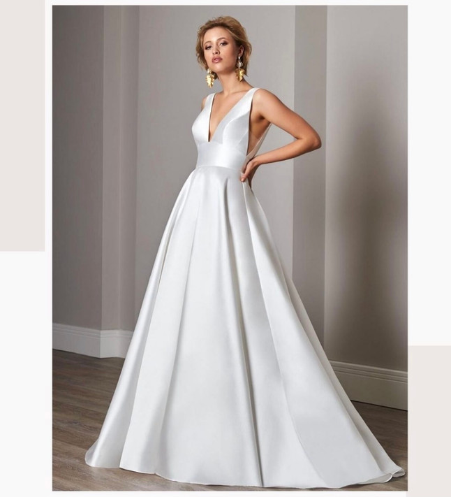 Ladies of Lineage Wedding Gowns as Enneagram Types