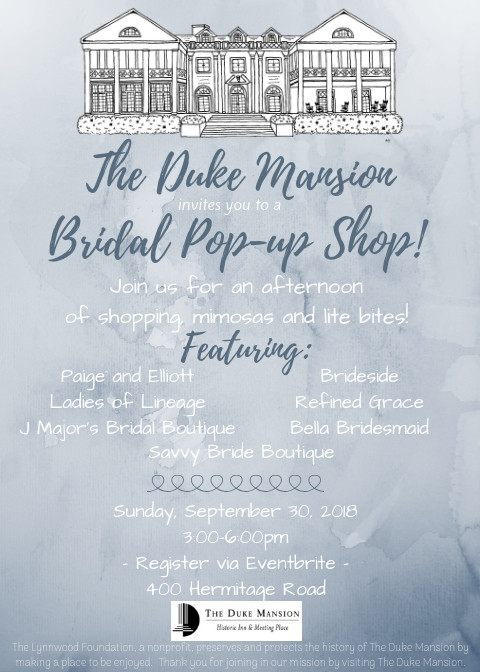 Duke Mansion Pop-Up
