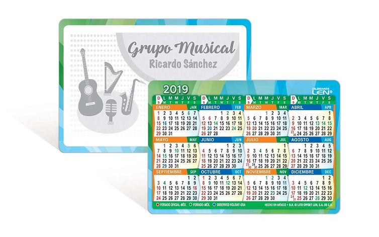Calendarios Bolsillo