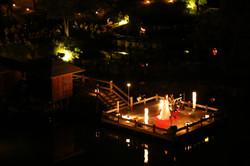 観月の夕べ 野外ステージ