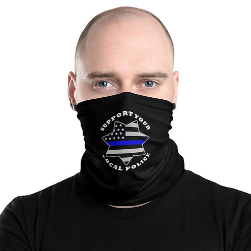 SUPPORT YOUR LOCAL POLICE Neck Gaiter