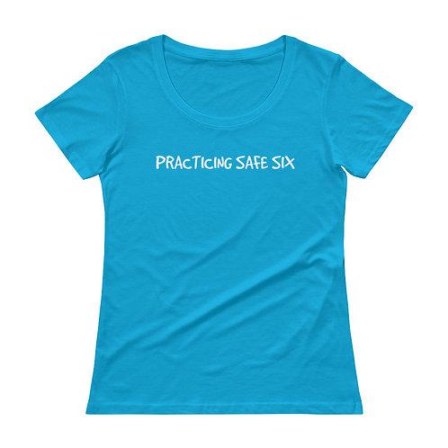 SAFE SIX Ladies' Scoopneck T-Shirt