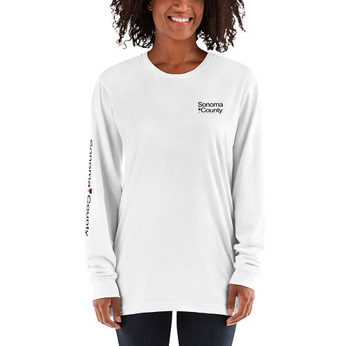 SC Womens White Long sleeve t-shirt