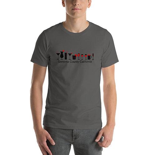 Bar Glasses Short-Sleeve Unisex T-Shirt