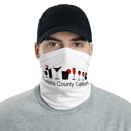 bar glass Neck Gaiter