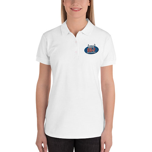 BULL Embroidered Women's Polo Shirt