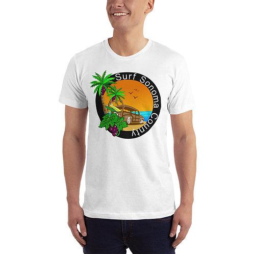 Grape Coconut Unisex Jersey T-Shirt - American Apparel 2001