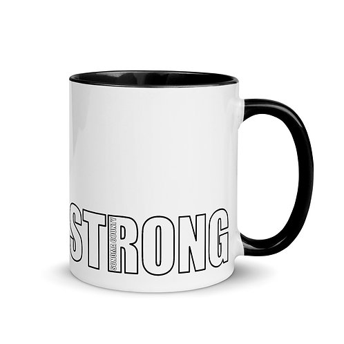 Sonoma County STRONG Mug with Color Inside