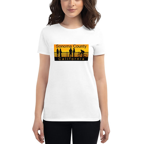 Golden Womens short sleeve t-shirt
