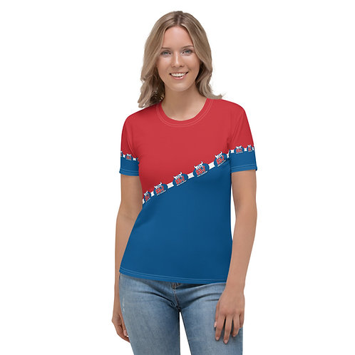 BULL Women's All Over T-shirt