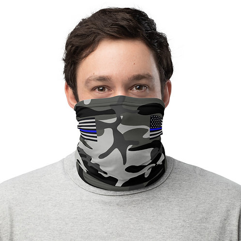 BLUE LINE FLAG CAMO Neck Gaiter