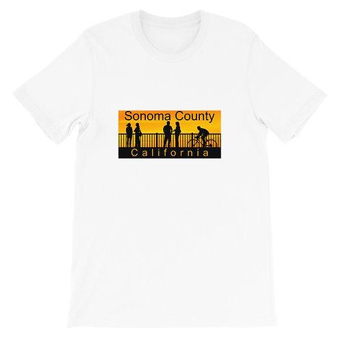Golden Short-Sleeve Unisex T-Shirt