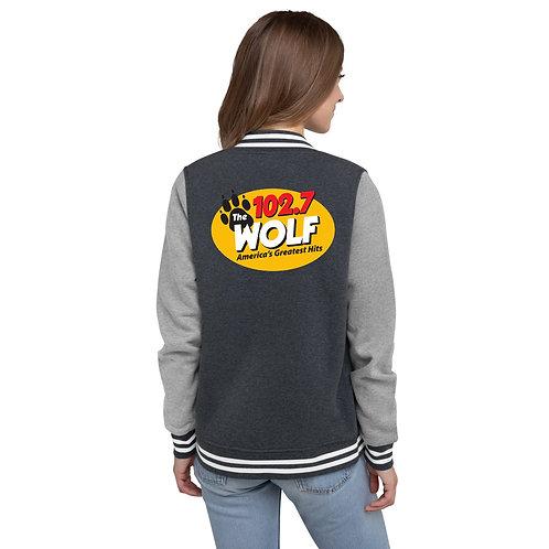 WOLF Women's Letterman Jacket