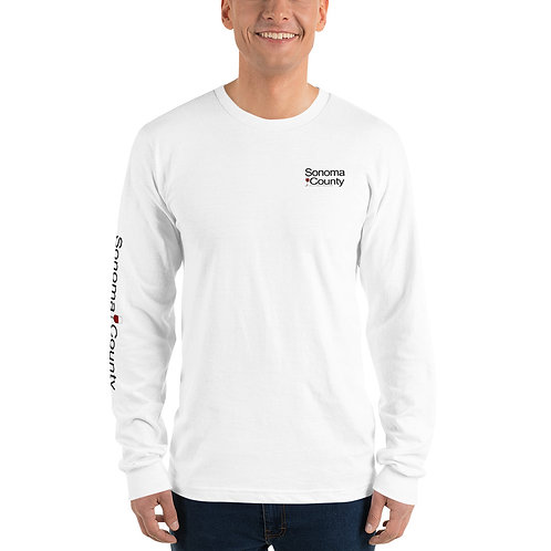 SC Mens White Long sleeve t-shirt