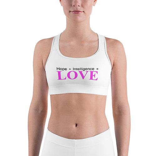 LOVE Sports bra