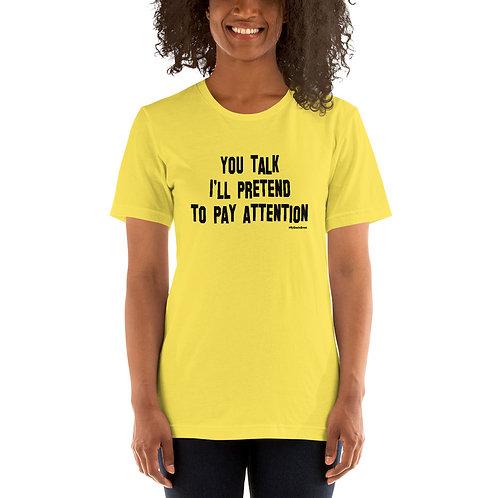 Uncle Brent Talk Short-Sleeve Unisex T-Shirt