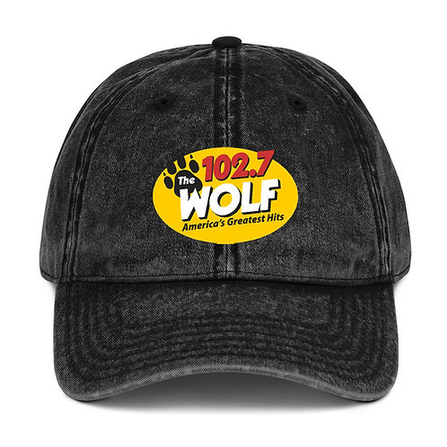 WOLF Vintage Cotton Twill Cap
