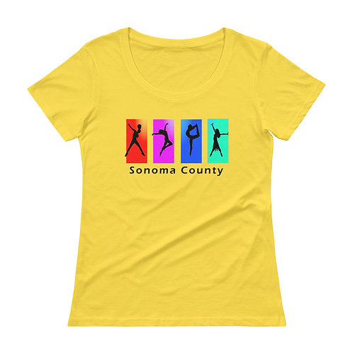 Dancer Womans Scoopneck T-Shirt