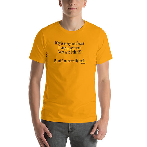 Uncle Brent Point A Short-Sleeve Unisex T-Shirt