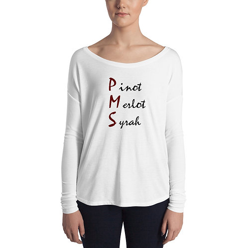 PMS Womans  Long Sleeve Tee