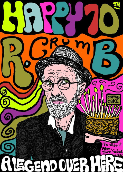 Artist R. Crumb Tribute