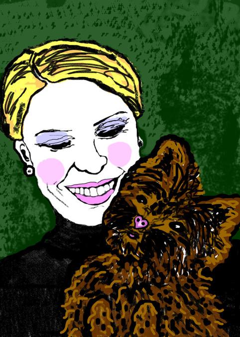 Nicole and Pup