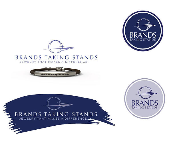 Brands Taking Stands branding and logos