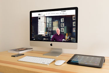 Website Branding Service Example