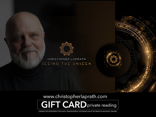 Private Reading Gift Card