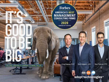 Forbes Magazine names Adopt Technologies to its list of Best Management Consulting Firms in America