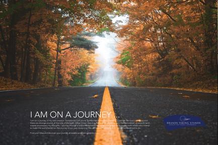 I am on a journey
