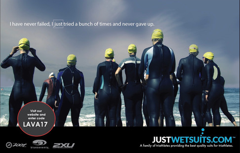 Felice Agency for Just Wetsuits
