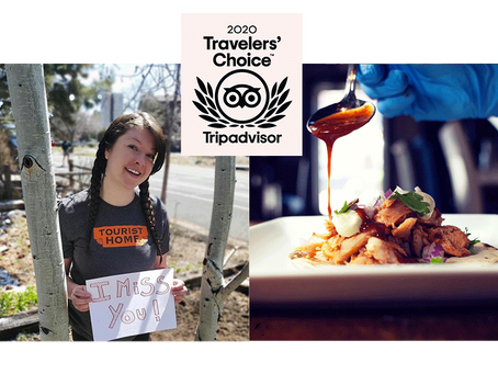 TINDERBOX AND TOURIST HOME WIN TRAVELERS' CHOICE AWARDS