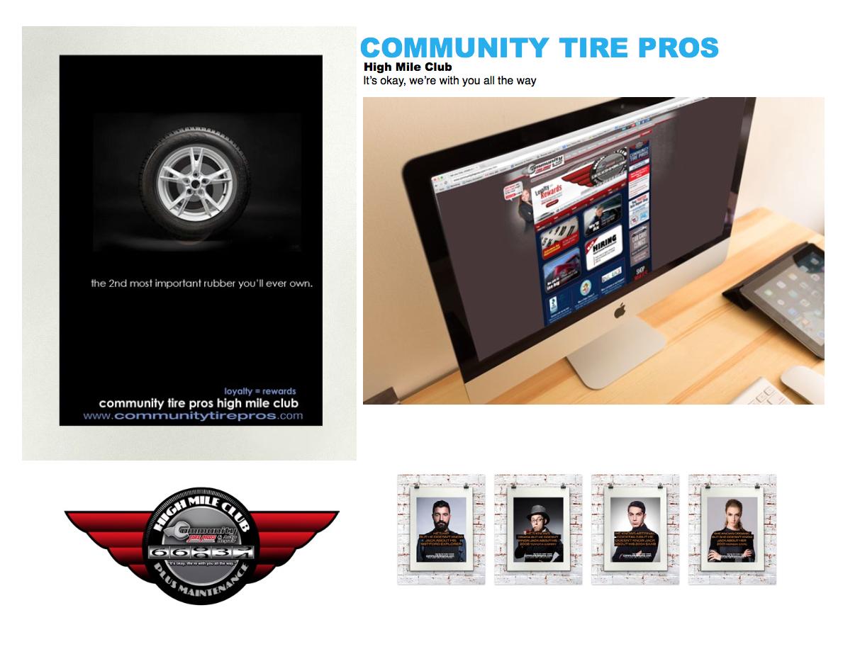 Community Tire Pros Branding