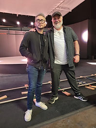 Professor Chris LaPrath Psychic with music producer Jack London.jpg