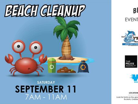 September 11 Beach Cleanup