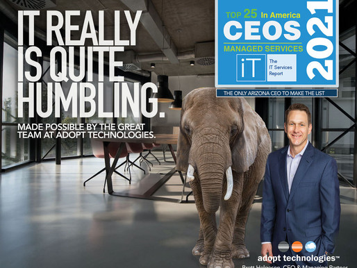 BRETT HELGESON NAMED TO TOP 25 CEOS LIST BY IT SERVICES REPORT