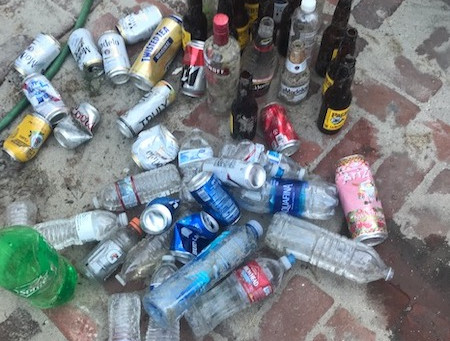 San Diego Community News: Mission Beach woman cleans and crusades against littering at the beach