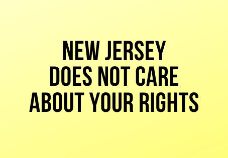 New Jersey's Tyranny