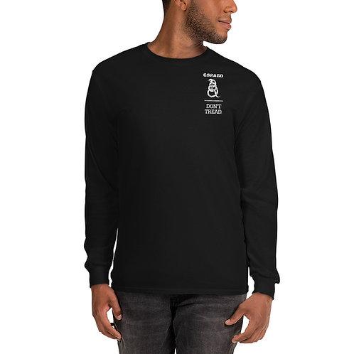 Men's Long Sleeve T-Shirt - White Design
