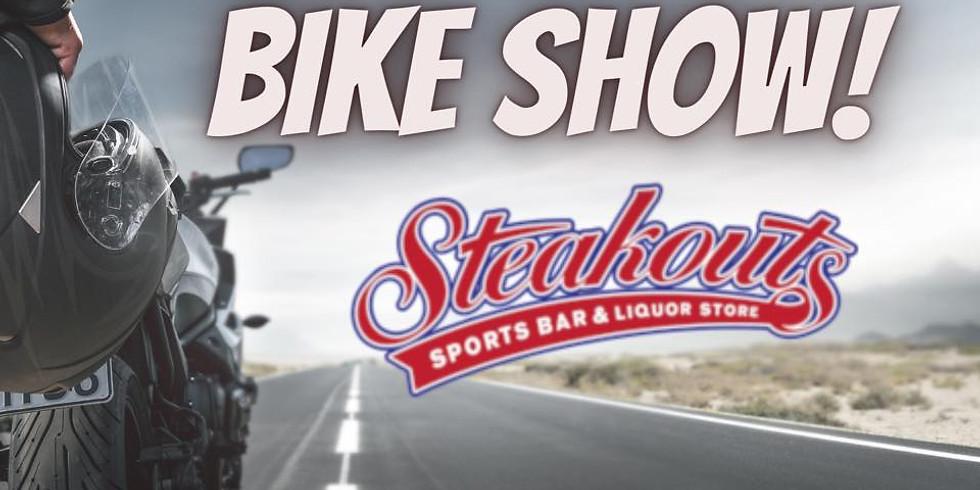 Meet & Greet at Steakouts Fall Bike Show