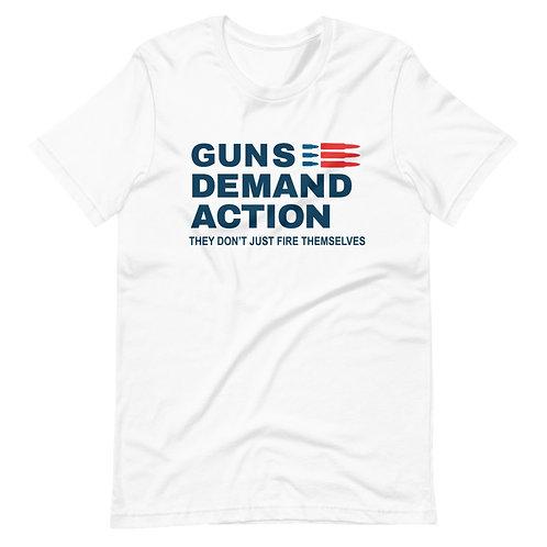 Guns Demand Action