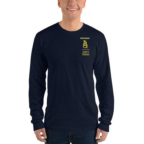 Long sleeve t-shirt - Yellow Design