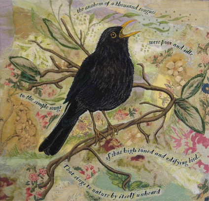 Blackbird Sings by Chloe Morter Design
