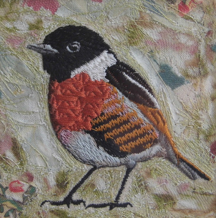 Stonechat by Chloe Morter Design