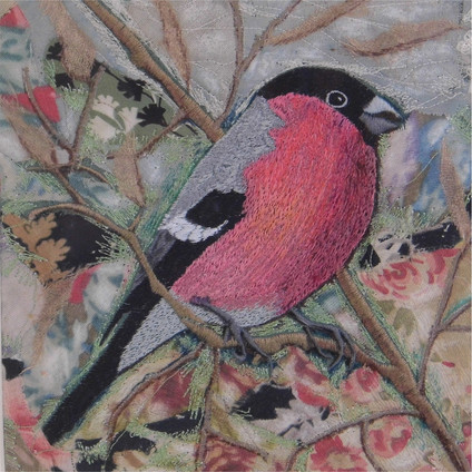 Bullfinch by Chloe Morter Design