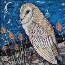 Barn Owl Greetings Card by Chloe Morter Design