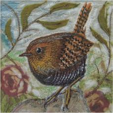 Little Wren Greetings Card by Chloe Morter Design