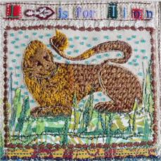 Alphabet Lion Greetings Card by Chloe Morter Design