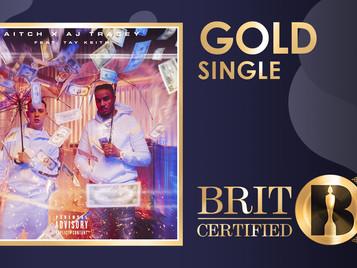 'Rain' Certified Gold!